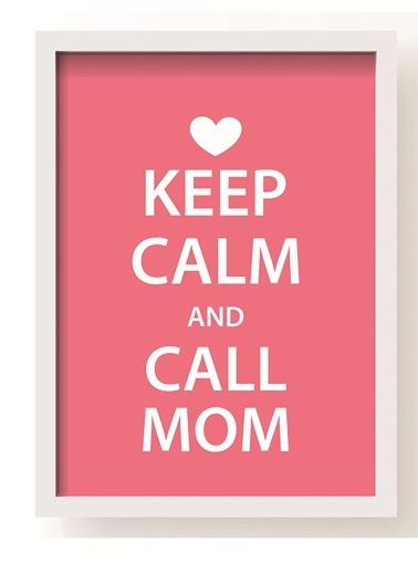 Call Mom Poster-All About Wall